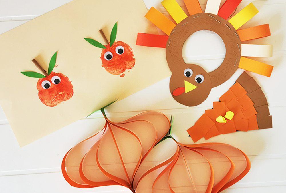 Autumn arts and craft ideas